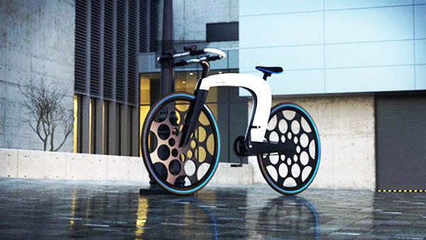 属于未来的智能自行车图片
