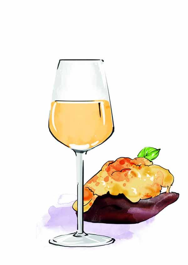 桃红葡萄酒   适饮温度:10℃到12℃    搭配:容易配菜,不出彩,也不会