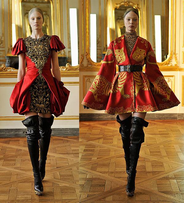 """英国著名的服装设计师,有""""坏孩子""""之称,被认为是英国的时尚教父."""